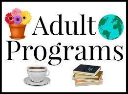 Adult Program title graphic