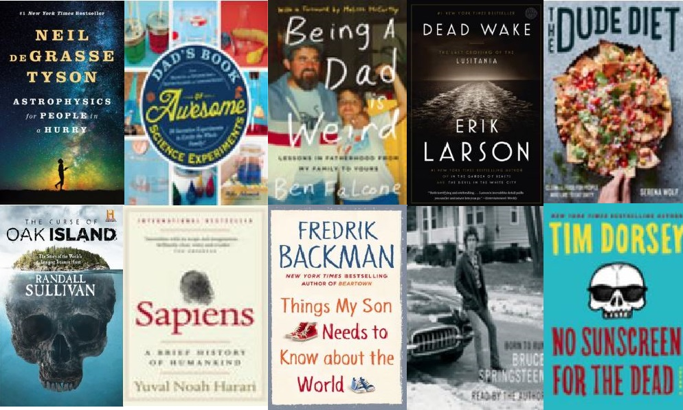 Fun Reads for Dad!
