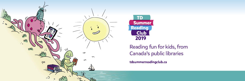 TD Summer Reading Club Banner 2019