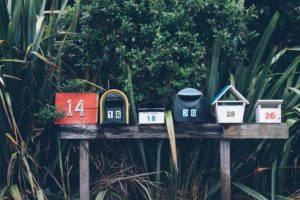 6 Mailboxes