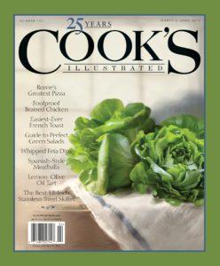 Cooks illustrated magazine cover