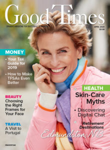 Good Times magazine cover