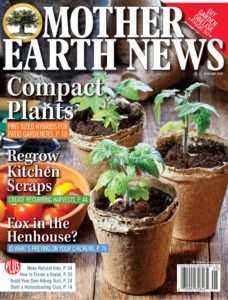 Mother earth news magazine cover