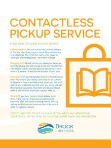 Contactless Pickup Procedure