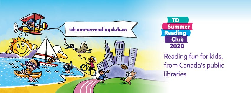 Image of summer activities for the TD Summer Reading Club 2020