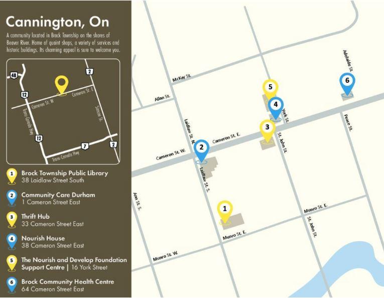 Map of Cannington