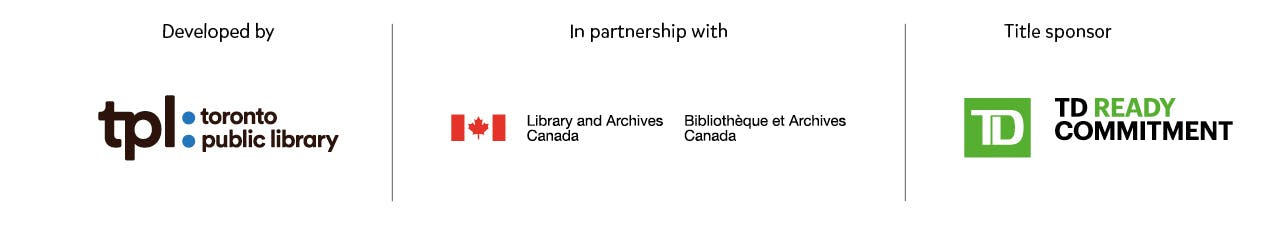 Logos for TPL, Gov of Canada and TD