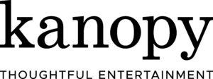 kanopy logo black with Slogan