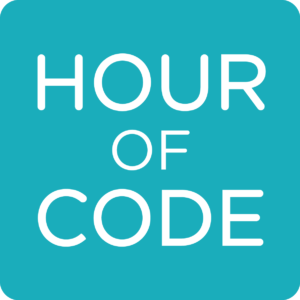 Hour of Code blue logo