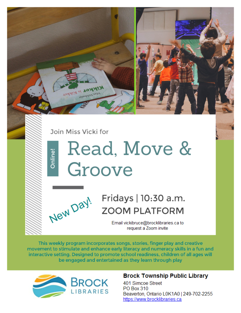 Read, Move and Groove – Zoom Style